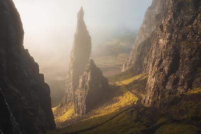 The Needle. Isle of Skye, Scotland