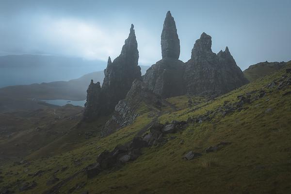 Old Man of Storr. Isle of Skye, Scotland