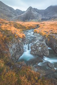 Fairy Pools. Isle of Skye, Scotland