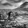 The bridge at Sligachan, on Skye