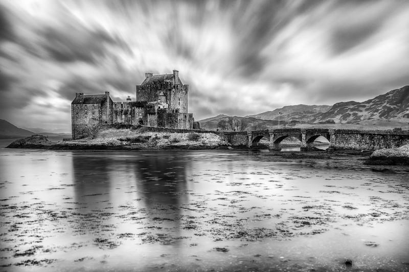 Eilean Donan castle. Dornie, Kyle of Lochalsh