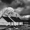 A bothy in Glencoe, Highlands of Scotland