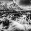 Buachaille Etive Mor Waterfalls, Glencoe