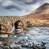 The bridge at Sligachan, Skye