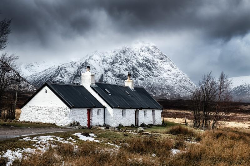 The cottage at Glencoe