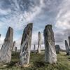 Callanish standing stone henge