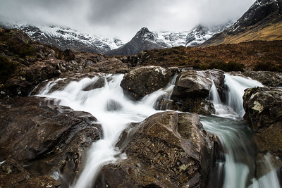 Wild Waters at the Fairy Pools [Landscape]