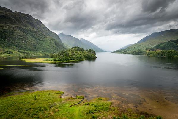 Loch Shiel and the Glen