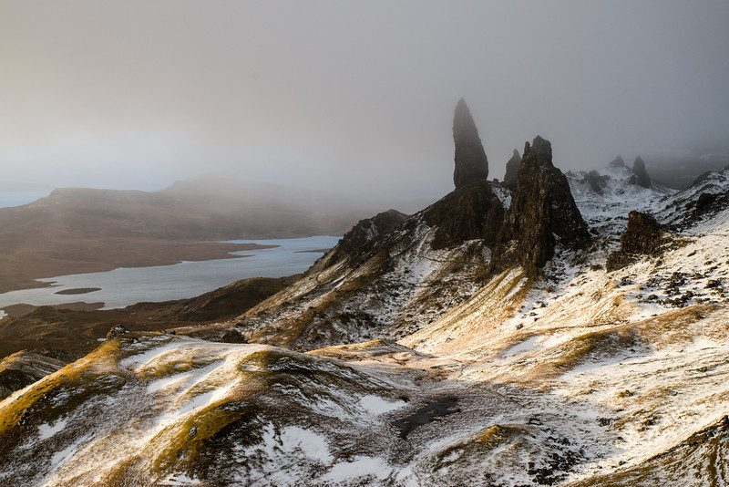 Light and Dark over the Man of Storr