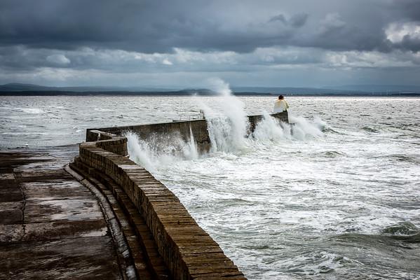 Crashing Waters at Burghead, Moray