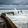 Crashing Waters at Burghead, Moray