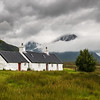 The Buachaille Swathed in Cloud
