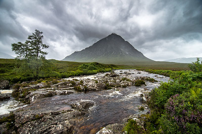 The Buachaille and River Coupall