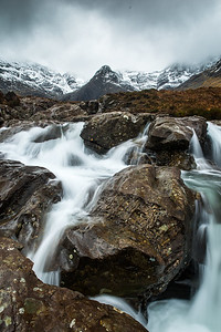 Wild Waters at the Fairy Pools [Portrait]