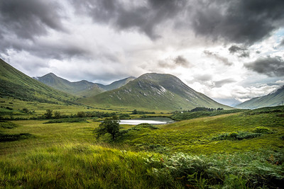Troubled Skies of Glen Etive