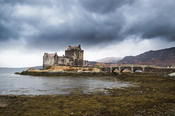 Eilean Donan beneath a Dramatic Sky