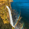 Double Rainbow at Kilt Rock Waterfall