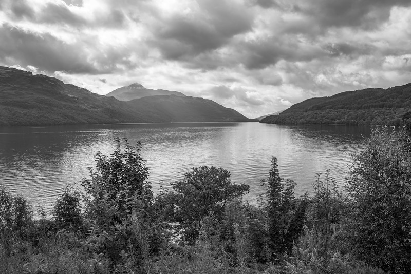 Dark Skies on Loch Lomond