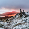 Sunrise at the Storr