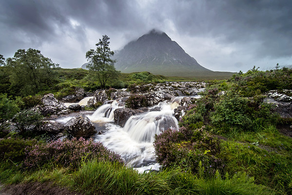 River Coupall and Buachaille Etive Mor