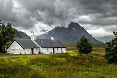 Blackrock, the Buachaille and Black Clouds