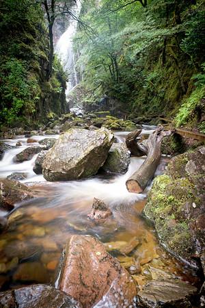 Grey Mare's Tail Waterfall near Kinlochleven