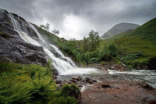 Falls in Glencoe