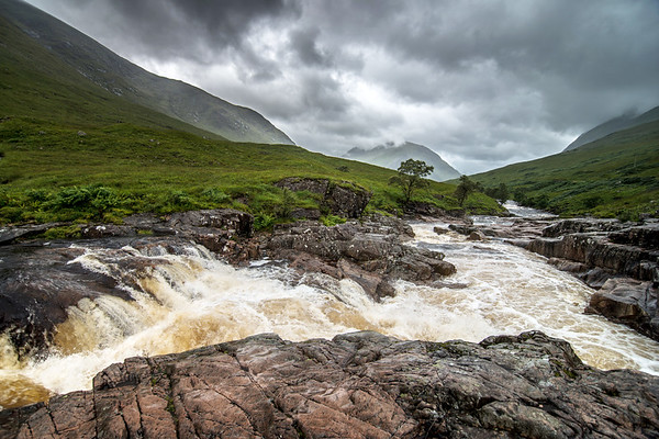 Wild Water in Glen Etive
