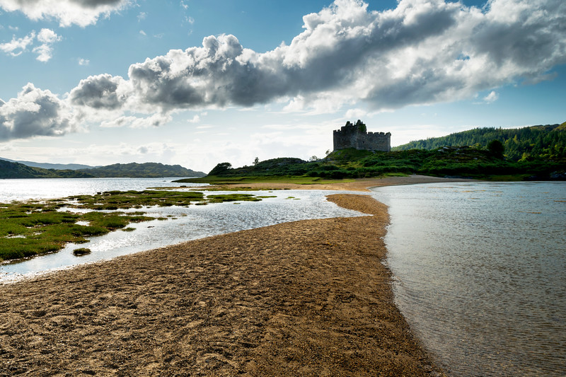 Causeway to Castle Tioram