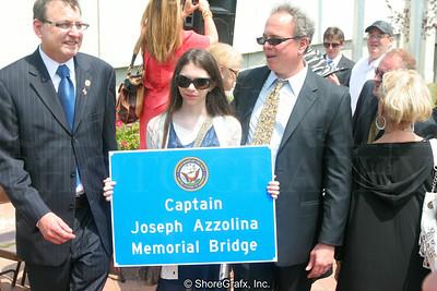 Highlands Bridge Joseph Azzolina Dedication