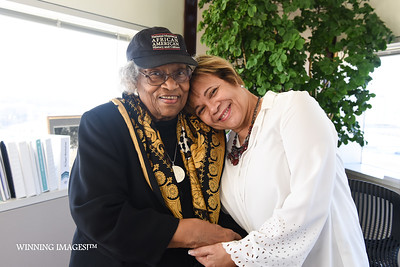 T.D. Elder & Mayor Vi Lyles