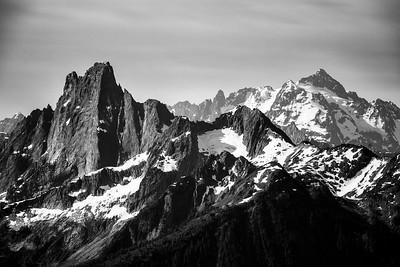 Mt. Slesse and Mount Shuksan