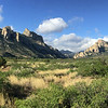 The spectacular view toward Cave Creek Canyon near Portal, by guide Cory Gregory.