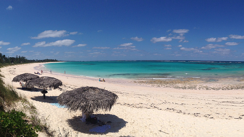 A beach on Eleuthera Island, by guide Jesse Fagan