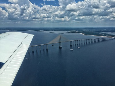 This bridge, inaugurated in 2011, crosses the Rio Negro at Manaus.