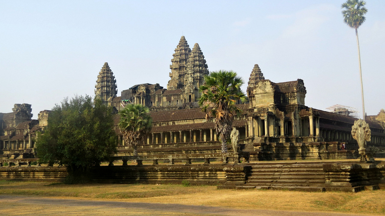 We begin this series from our 2016 tour with fabulous Angkor Wat, the largest religious monument in the world. Photo by guide Phil Gregory.