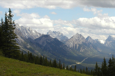 Kananaskis Country, another scenic wonder of this tour, by guide Jay VanderGaast.
