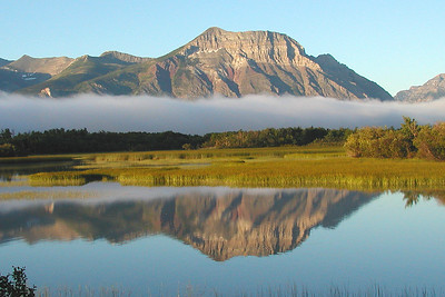 We'll have lovely backdrops for our Alberta birding. Photo by guide Jay VanderGaast.