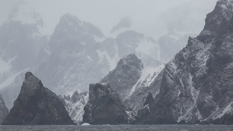 The South Orkney Islands, photographed by guide Tom Johnson.