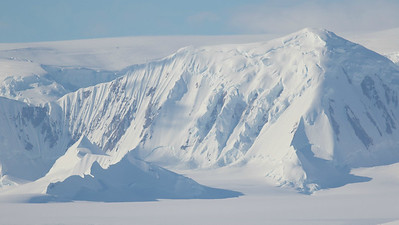 Antarctic Peninsula mountains, photographed by guide Tom Johnson.