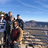 Group photo at the White Rock overlook by guide Doug Gochfeld