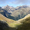 Looking into Spain from the French Pyrenees, by guide Cory Gregory