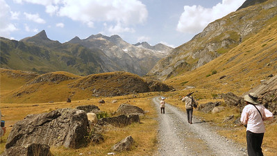 A lovely day for an outing in the Pyrenees, by participant Mary Deutsche