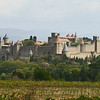 A view of Carcassone from our picnic spot, by participant Charlotte Byers
