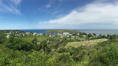 Monhegan Island, one of our stops, is a fishing village, artist enclave, and welcome refuge for migrant landbirds. Photo courtesy of Doug Hitchcox.