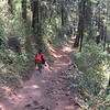 The trail at Cerro Pelon by guide Micah Riegner