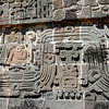 Design relief at the Xochicalco ruins by guide Micah Riegner