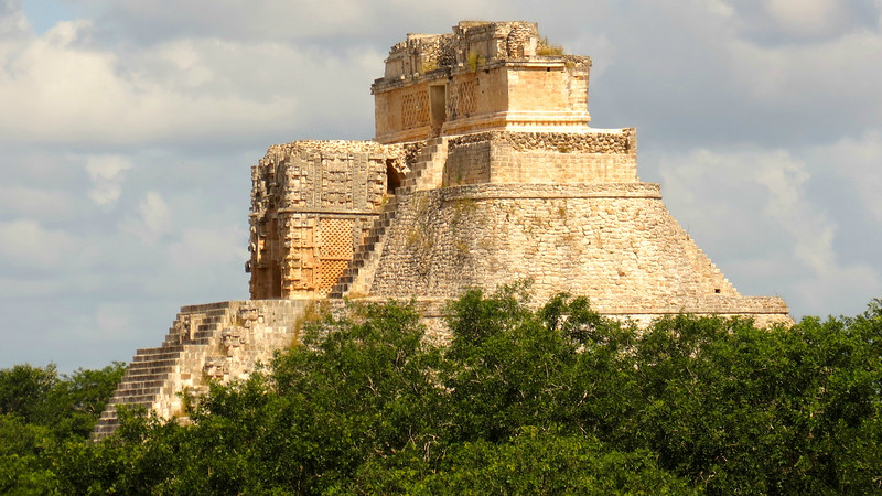 The Mayan ruins at Uxmal are some of the most glorious on the Yucatan. Photo by participant Michel Metayer.