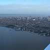 The city of Belem from the air by guide Dave Stejskal