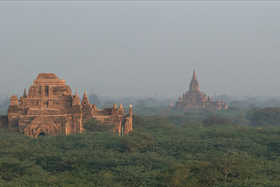 A part of the Bagan temple complex, by guide Doug Gochfeld